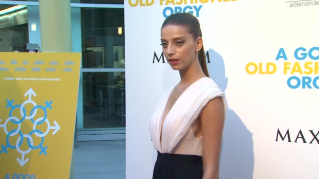 Angela Sarafyan at the Los Angeles Premiere of 'A Good Old Fashioned Orgy' at Hollywood CA