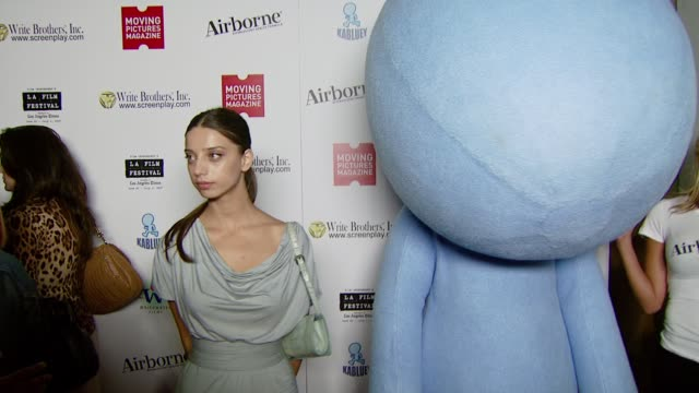 Angela Sarafyan at the Moving Pictures Presents 'Kabluey' Premiere Party at 1018 Westwood Blvd in Los Angeles California on June 25 2007