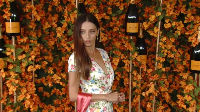 Angela Sarafyan at The NinthAnnual Veuve Clicquot Polo Classic Los Angeles at Will Rogers State Historic Park on October 06 2018 in Pacific Palisades...