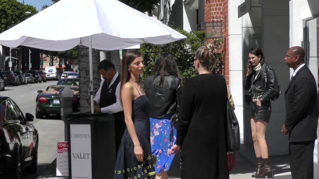 Angela Sarafyan goes shopping in Beverly Hills in Celebrity Sightings in Los Angeles