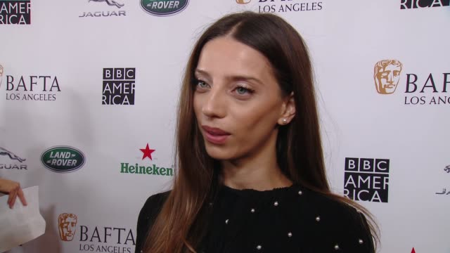 interview angela sarafyan on why the bafta la tv tea party is a mustattend event what she is most looking forward to at 2018 bafta los angeles bbc... - bafta la tea party stock videos and b-roll footage