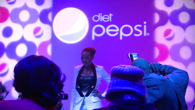 Angela Simmons at Simon Doonan Presents The Diet Pepsi Style Studio Fashion Show on in New York