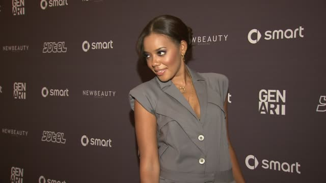 Angela Simmons at the Erika Christensen to Host Gen Art Fresh Faces in Fashion Presented by smart car at New York NY