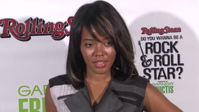 Angela Simmons at the Rolling Stone's 'Do You Wanna Be A Rock Roll Star' Cover Reveal Party at New York NY