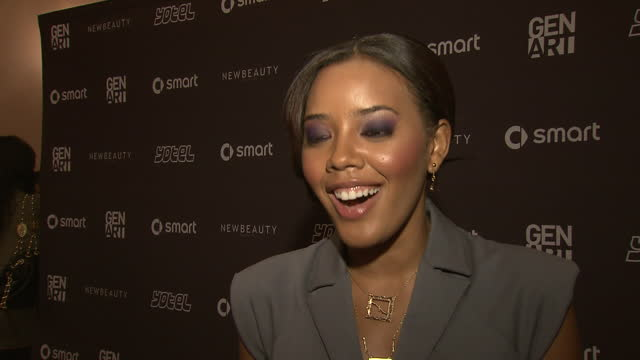 Angela Simmons on coming out at the Erika Christensen to Host Gen Art Fresh Faces in Fashion Presented by smart car at New York NY