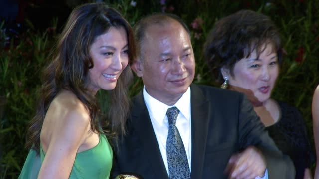 stockvideo's en b-roll-footage met angeles woo john woo annie woo at the reign of assassins premiere 67th venice film festival at venice - filmfestival