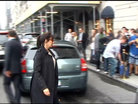 Angelica Huston at NBC Upfronts at the Ritz Carlton
