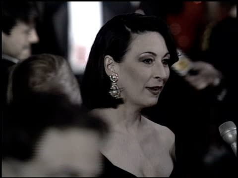 Angelica Huston at the 1993 Academy Awards at Dorothy Chandler Pavilion in Los Angeles California on March 29 1993