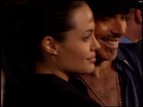 Angelina Jolie and Billy Bob Thornton at the 'Bandits' Premiere on October 4 2001