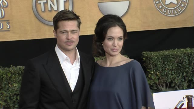 Angelina Jolie and Brad Pitt at the 15th Annual Screen Actors Guild Awards Part 7 at Los Angeles CA