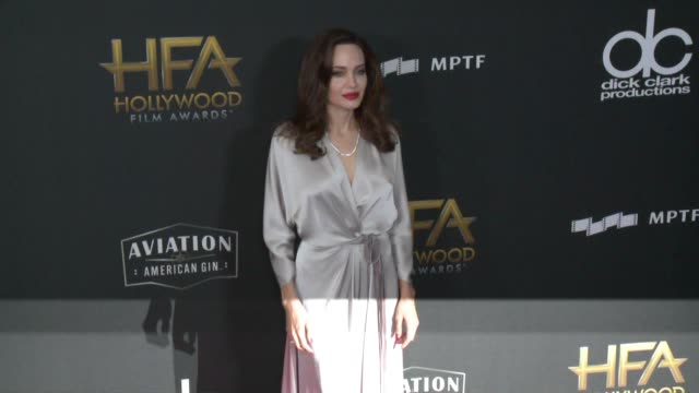 Angelina Jolie at 21st Annual Hollywood Film Awards at The Beverly Hilton Hotel on November 05 2017 in Beverly Hills California