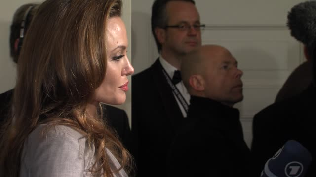 Angelina Jolie at Cinema For Peace Gala 2012 in Berlin on January 13th 2012