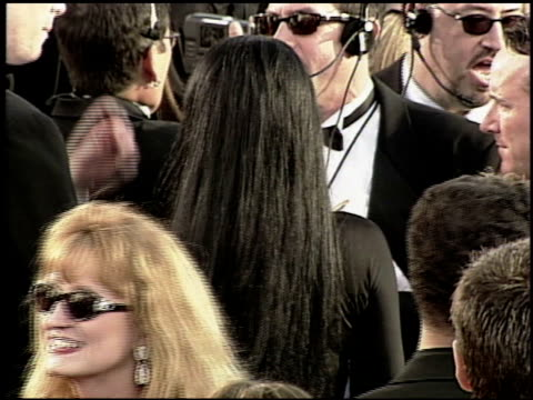 angelina jolie at the 2000 academy awards at the shrine auditorium in los angeles california on march 26 2000 - 72nd annual academy awards stock videos & royalty-free footage