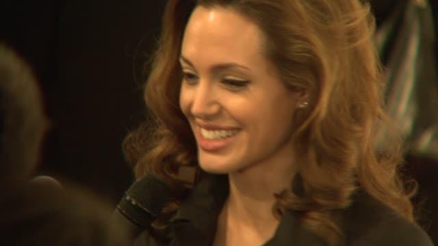 Angelina Jolie at the 2008 Critics' Choice Awards at Santa Monica Civic Auditorium in Santa Monica California on January 7 2008