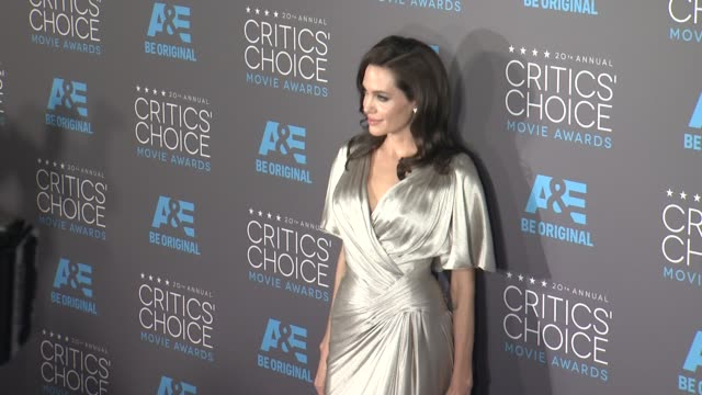 Angelina Jolie at the 20th Annual Critics' Choice Awards at Hollywood Palladium on January 15 2015 in Los Angeles California