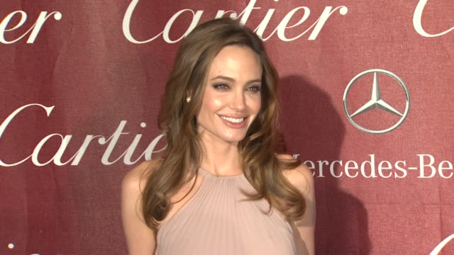 Angelina Jolie at The 23rd Annual Palm Springs International Film Festival Awards Gala on 1/7/2012 in Palm Springs CA