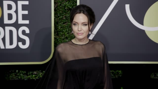 Angelina Jolie at the 75th Annual Golden Globe Awards at The Beverly Hilton Hotel on January 07 2018 in Beverly Hills California