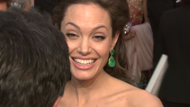Angelina Jolie at the 81st Academy Awards Arrivals at Los Angeles CA