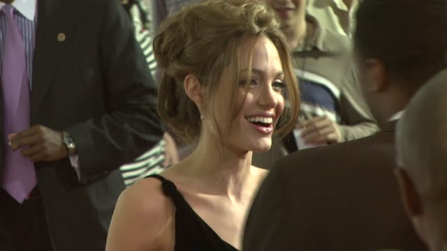 Angelina Jolie at the 'A Mighty Heart' Premiere at Ziegfeld Theatre in New York New York on June 13 2007