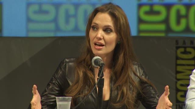Angelina Jolie at the ComicCon 2010 'Salt' at San Diego CA