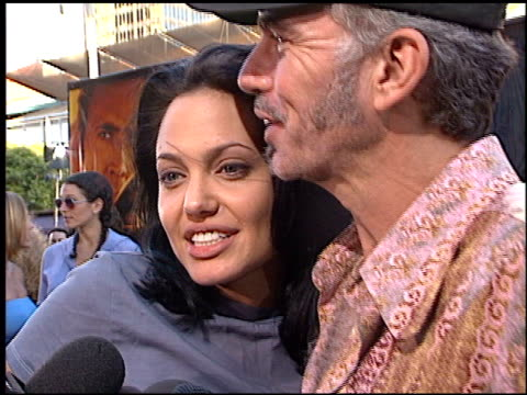 Angelina Jolie at the 'Gone in 60 Seconds' Premiere on June 6 2000
