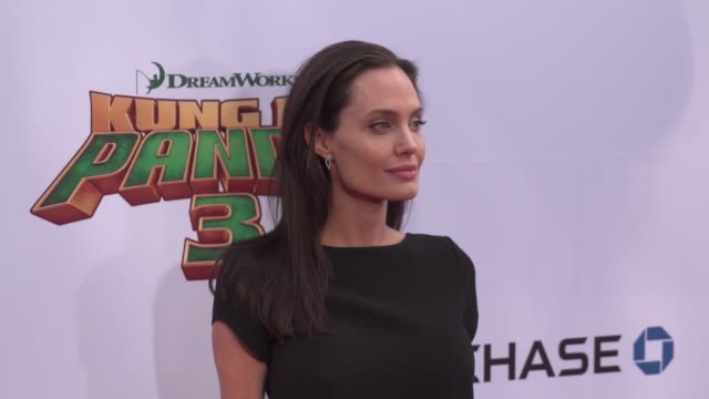Angelina Jolie at the 'Kung Fu Panda 3' World Premiere at TCL Chinese Theatre on January 16 2016 in Hollywood California