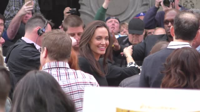 Angelina Jolie at the 'Kung Fu Panda 3' World Premiere at TCL Chinese Theatre in Hollywood at Celebrity Sightings in Los Angeles on January 16 2016...