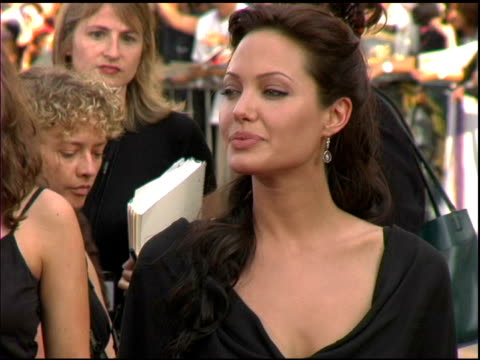 Angelina Jolie at the 'Lara Croft Tomb Raider The Cradle of Life' World Premiere at Grauman's Chinese Theatre in Hollywood California on July 21 2003