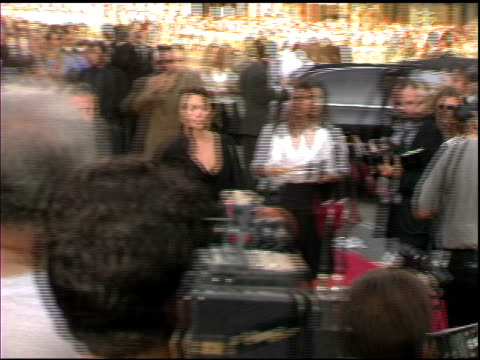 angelina jolie at the 'lara croft tomb raider the cradle of life' world premiere at grauman's chinese theatre in hollywood california on july 21 2003 - croft stock videos & royalty-free footage