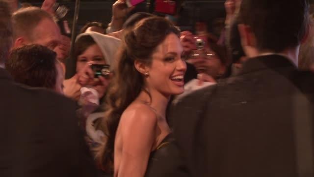 Angelina Jolie at the The Orange British Academy Film Awards at London