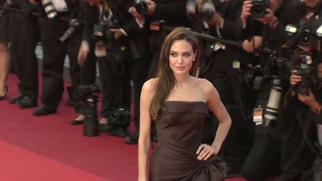Angelina Jolie at the The Tree of Life Premiere 64th Cannes Film Festival at Cannes