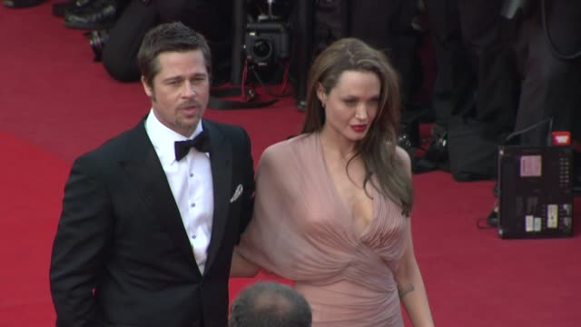 Angelina Jolie Brad Pitt at the Cannes Film Festival 2009 Inglourious Basterds Steps at Cannes