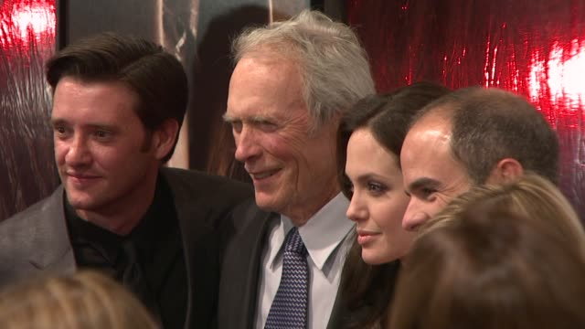 Angelina Jolie Clint Eastwood at the New York Film Festivals Centerpiece Screening of 'Changeling' at New York NY