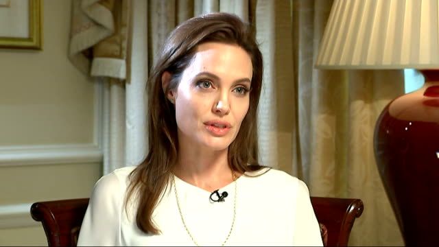 Angelina Jolie interview Angelina Jolie interview SOT important not to discount all of the good work being done but clearly if you look around the...