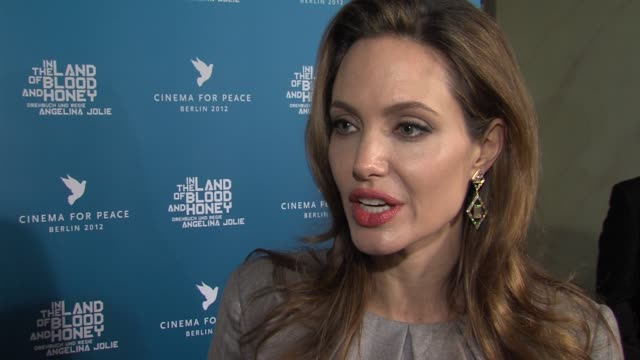 Angelina Jolie on how her charity work affects her personal life at Cinema For Peace Gala 2012 in Berlin on January 13th 2015