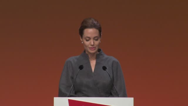 SPEECH Angelina Jolie on the what's been achieved at the Sexual Violence in Conflict Summit final plenary and press conference at ExCel on June 13...