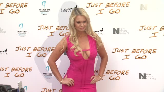 angelinerose troy at the just before i go los angeles premiere at arclight cinemas on april 20 2015 in hollywood california - arclight cinemas hollywood 個影片檔及 b 捲影像