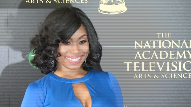 angell conwell at the 2014 daytime emmy awards at the beverly hilton hotel on june 22, 2014 in beverly hills, california. - the beverly hilton hotel stock videos & royalty-free footage