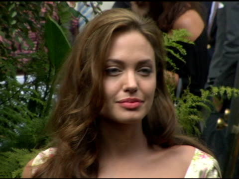 Angellina Jolie at the 11th Annual Premiere 'Women in Hollywood' Luncheon at the Four Seasons Hotel in Beverly Hills California on September 14 2004