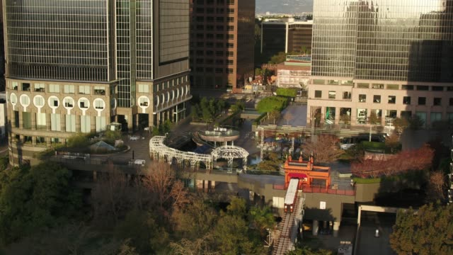 Angel's Flight and California Plaza, DTLA - Drone Shot