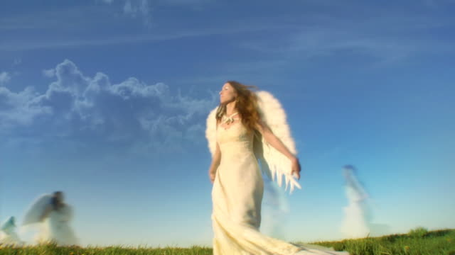 angels - angel stock videos & royalty-free footage