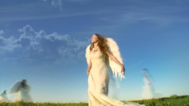 angels - ängel bildbanksvideor och videomaterial från bakom kulisserna