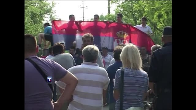 anger and disbelief ran through serbia's village of lazarevo thursday after security forces swooped in and arrested europe's most-wanted man, war... - ratko mladic stock videos & royalty-free footage