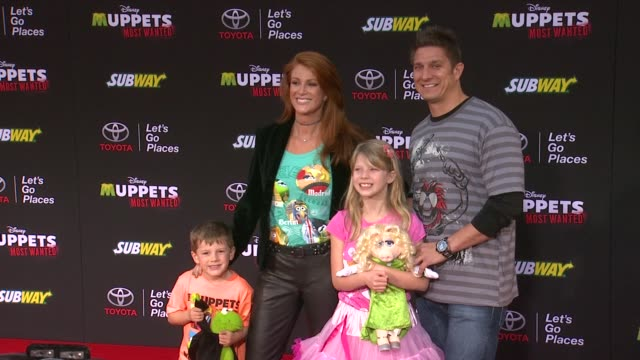 Angie Everhart at Disney's 'Muppets Most Wanted' Los Angeles Premiere at the El Capitan Theatre on March 11 2014 in Hollywood California
