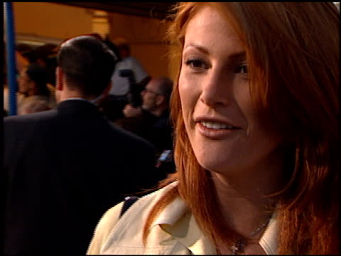 Angie Everhart at the 'Hope Floats' Premiere on May 27 1998