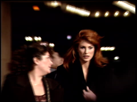 Angie Everhart at the Premiere of 'The Juror' on January 29 1996