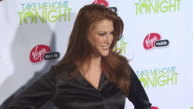 Angie Everhart at the 'Take Me Home Tonight' Premiere at Los Angeles CA
