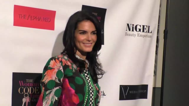 angie harmon at an evening with author of 'the woman code' sophia a nelson hosted by angie harmon at city club los angeles at celebrity sightings in... - angie harmon stock videos & royalty-free footage