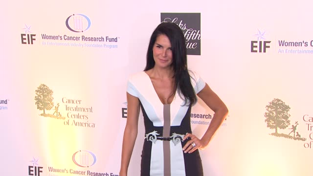 angie harmon at eif women's cancer research fund's 16th annual an unforgettable evening presented by saks fifth avenue on 5/2/13 in los angeles, ca . - angie harmon stock videos & royalty-free footage
