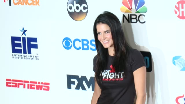 Angie Harmon at Stand Up To Cancer 2014 at Dolby Theatre on September 05 2014 in Hollywood California